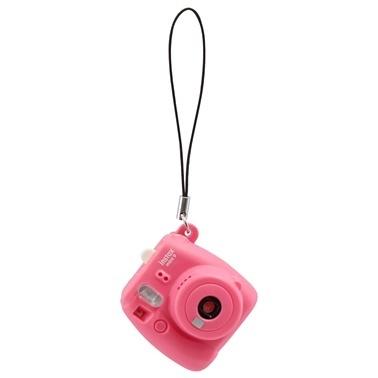 Fujifilm instax Pembe Minyatür mini 9 Anahtarlik Renkli